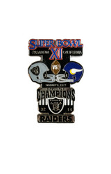 Super Bowl XI (11) Commemorative Lapel Pin