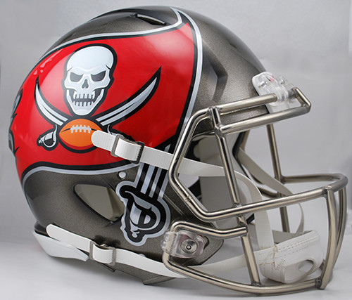 3fbc7b0c Tampa Bay Buccaneers NEW Riddell Full Size Authentic SPEED Helmet