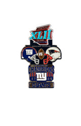 Super Bowl XLII (42) Commemorative Lapel Pin