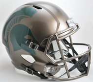 Michigan State Spartans BRONZE SPEED Riddell Full Size Replica Helmet