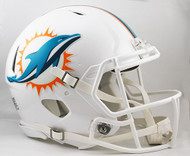 Miami Dolphins NEW Riddell Full Size Authentic SPEED Helmet