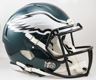 Philadelphia Eagles NEW Riddell Full Size Authentic SPEED Helmet