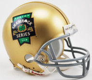 Notre Dame Fighting Irish Special 2015 Boston Shamrock Series NCAA Riddell Mini Helmet