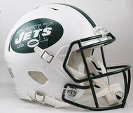 New York Jets NEW Riddell Full Size Authentic SPEED Helmet