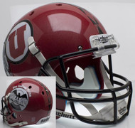 Utah Utes Alternate 8 PROUD Indian Tribe Schutt Full Size Replica XP Football Helmet