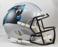 Carolina Panthers NEW Riddell Full Size Authentic SPEED Helmet