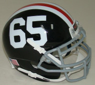 Northern Illinois Huskies Alternate 50th Anniversary #65 Schutt Mini Authentic Helmet
