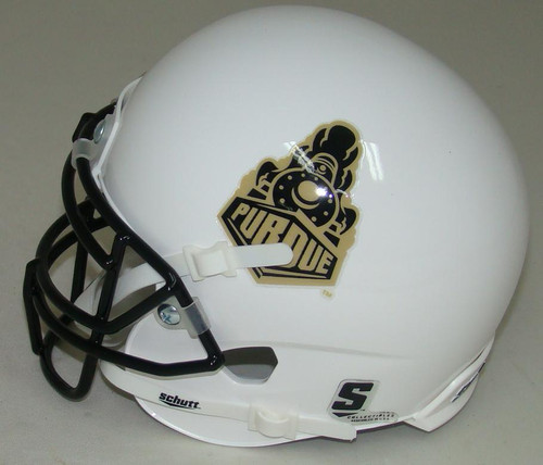 Purdue Boilermakers Alternate 2015 Train Schutt Mini Authentic Football Helmet