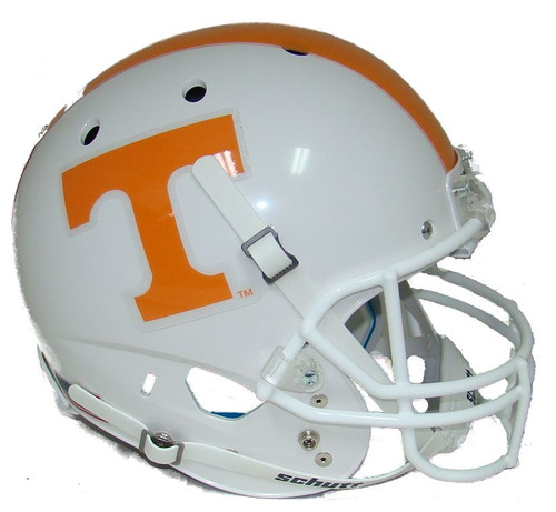 Tennessee Volunteers Checker Back Schutt Full Size Replica XP Football Helmet