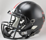 Ohio State Buckeyes Alternate BLACK SPEED Riddell Full Size Replica Helmet