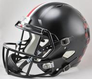Ohio State Buckeyes Alternate BLACK SPEED Riddell Full Size Replica Helmet
