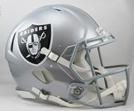 Oakland Raiders NEW Riddell Full Size Authentic SPEED Helmet