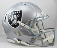 Las Vegas Raiders NEW Riddell Full Size Authentic SPEED Helmet