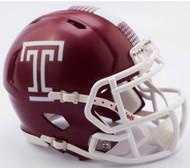 Temple Owls NCAA Riddell SPEED Mini Helmet