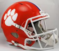 Clemson Tigers SPEED Riddell Full Size Replica Helmet