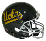 UCLA Bruins Alternate BLACK Schutt Full Size Replica Helmet