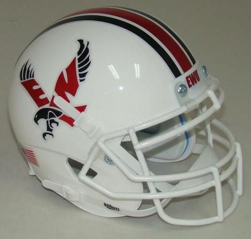 Eastern Washington University Eagles Alternate White Schutt Mini Authentic Football Helmet