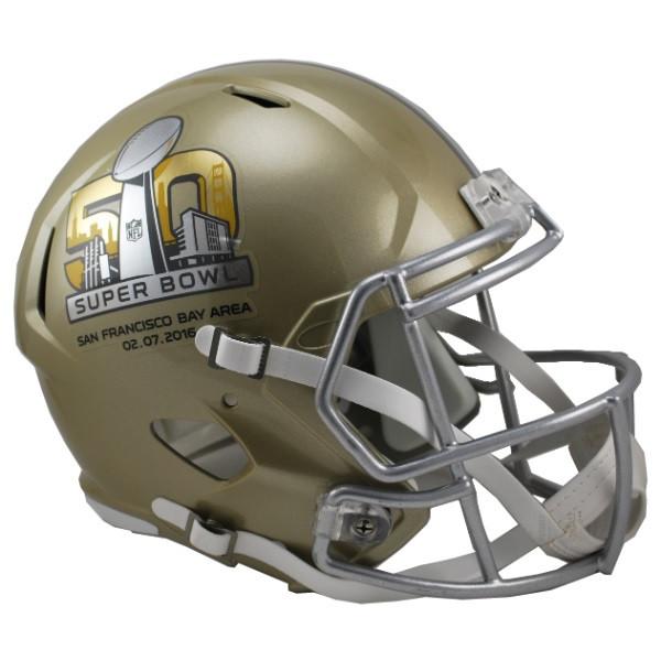 Super Bowl 50 Riddell SPEED REPLICA Full Size Helmet. Riddell · Image 1 0fd92be2d