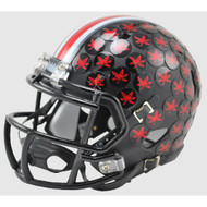 Ohio State Buckeyes 2015 BLACK Alternate Special Speed Mini Helmet