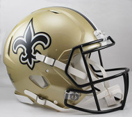 New Orleans Saints NEW Riddell Full Size Authentic SPEED Helmet
