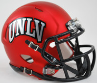 UNLV Runnin Rebels Alternate Satin Red NCAA Riddell SPEED Mini Helmet
