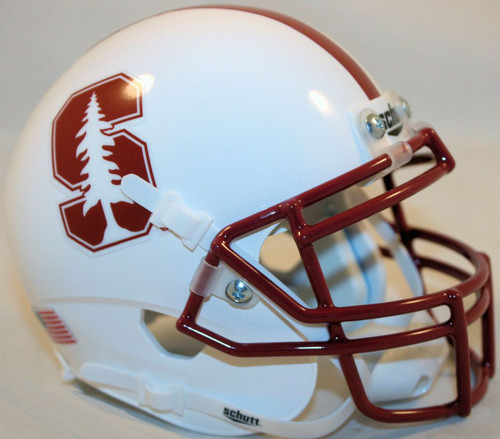 Stanford Cardinal 2015 Schutt Mini Authentic Football Helmet