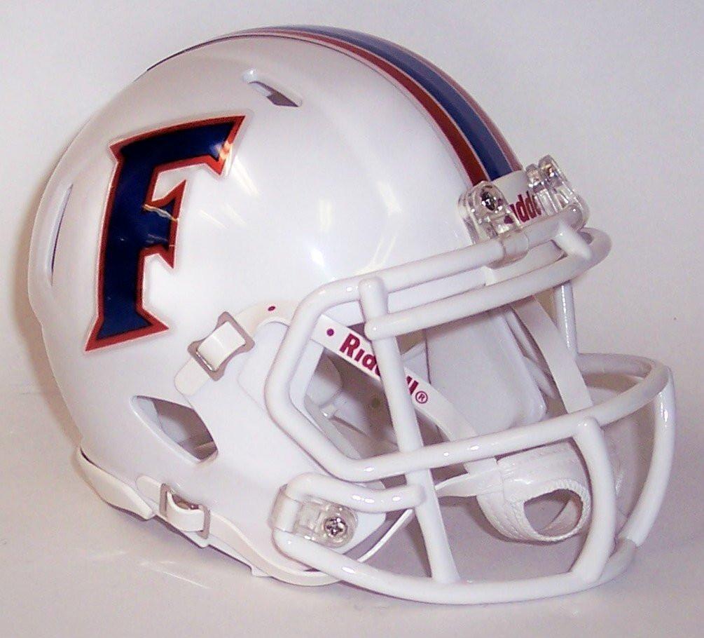 Florida Gators White 2015 NCAA Revolution Speed Mini Football Helmet