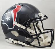 Houston Texans NEW Riddell Full Size Authentic SPEED Helmet