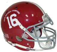 Alabama Crimson Tide 2015 FBS National Champions Schutt Authentic XP Football Helmet