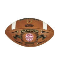 WILSON OFFICIAL NCAA ALABAMA 2015 FBS CHAMPIONS LEATHER GAME FOOTBALL - LIMITED EDITION