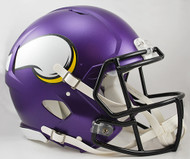 Minnesota Vikings Matte Purple Riddell Full Size Authentic SPEED Helmet