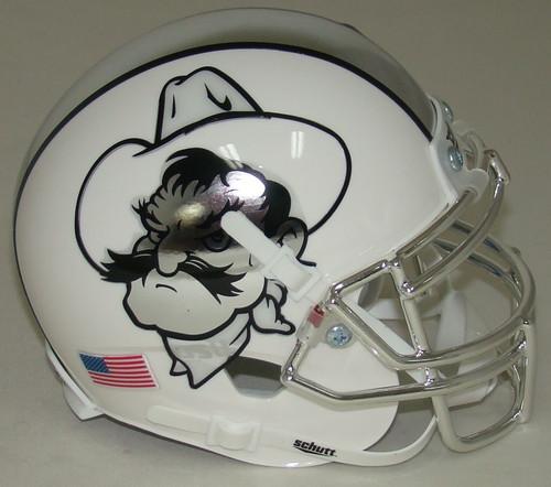 Oklahoma State Cowboys Icy Pistol Pete Schutt Mini Authentic Football Helmet