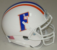 Florida Gators Alternate White Schutt Mini Authentic Helmet