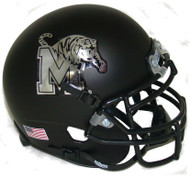 Memphis Tigers Alternate Black Schutt Mini Authentic Football Helmet