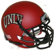 UNLV Runnin Rebels Alternate Red Schutt Mini Authentic Football Helmet