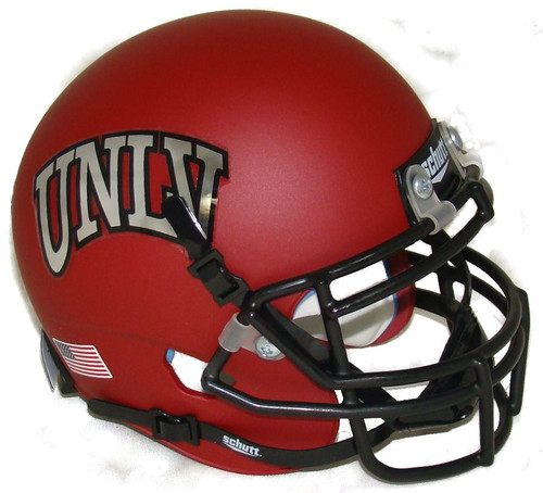 UNLV Runnin Rebels Alternate Red Schutt Mini Authentic Football Helmet