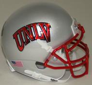 UNLV Runnin Rebels Alternate Silver Schutt Mini Authentic Football Helmet