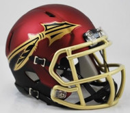 Florida State Seminoles Alternate Garnet Revolution SPEED Mini Helmet