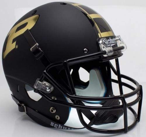 Purdue Boilermakers Alternate Black Schutt Full Size Replica XP Football Helmet