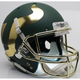 South Florida Bulls Alternate Green with Chrome Mask Schutt Full Size Replica XP Football Helmet