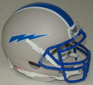 Air Force Falcons Alternate 6 Grey Schutt Mini Authentic Football Helmet