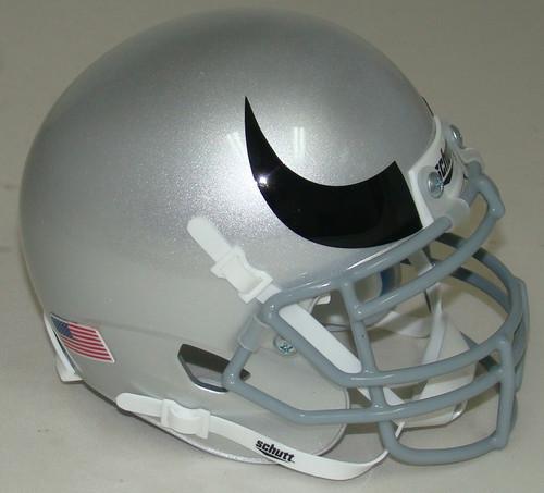 Colorado Buffaloes Alternate 5 Horn Schutt Mini Authentic Football Helmet