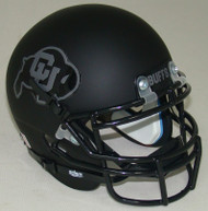Colorado Buffaloes Alternate 2 Schutt Mini Football Helmet