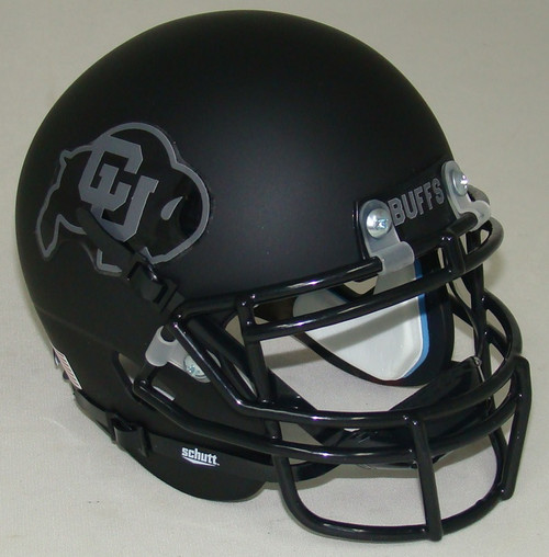 Colorado Buffaloes Alternate 2 Schutt Mini Football Helmet