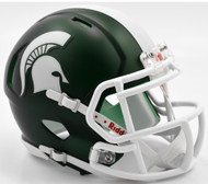 Michigan State Spartans Satin Revolution SPEED Mini Helmet