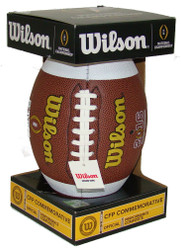 NCAA 2016 CFP National Championship Official Size Commemorative Football by Wilson (Boxed)