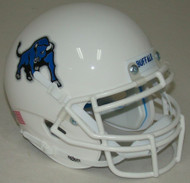 Buffalo Bulls Alternate White Schutt Mini Authentic Football Helmet