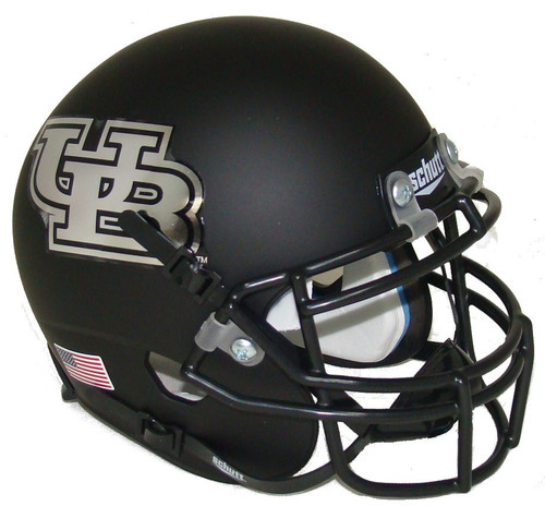 Buffalo Bulls Alternate Black Schutt Mini Authentic Football Helmet