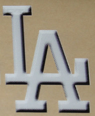 LOS ANGELES DODGERS 3D EFFECT FULL SIZE HELMET 3M STICKER DECAL