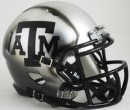 Texas A&M Aggies Alternate ICE HYDRO NCAA Riddell SPEED Mini Helmet